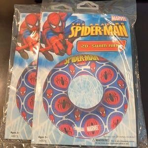 "Marvel The Amazing Spider Man 20"" Swim Rings x 2"